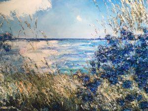 Sommardröm i blått