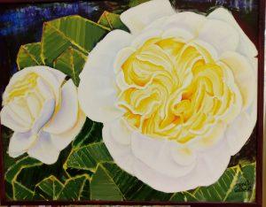Målning / blomma