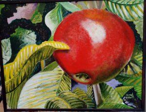 Målning / äpple