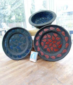 Skål eller fat, keramik