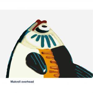 Makrell overhead
