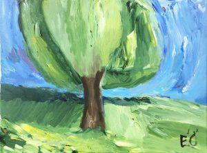 Träd i Munka