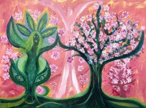 Körsbärsträdgården