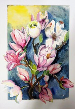 Vårens äppelblom