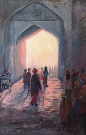 Motljus I tunnel.